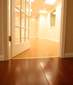 Basement wood flooring - Minnesota and Wisconsin