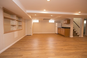 Basement finishing flooring in Duluth & nearby