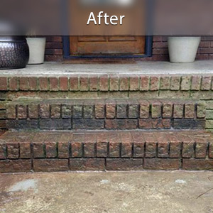 Sinking stairs repaired with PolyLevel® Duluth