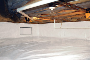 Crawl Space Repair After in Eau Claire