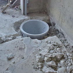 Placing a sump pit in a Sauk Rapids home